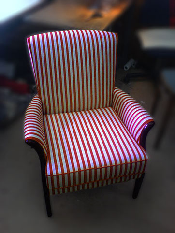 Refreshed Stripy Chair