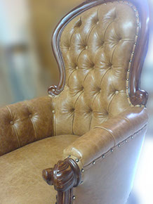 Leather Chair Like New